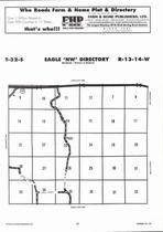 Eagle Township - Northwest, Directory Map, Barber County 2006